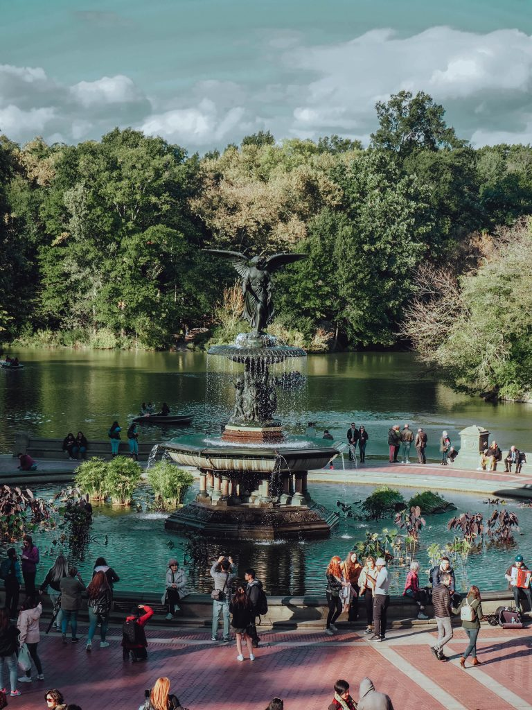 Die Bathesda Fontain im Central Park