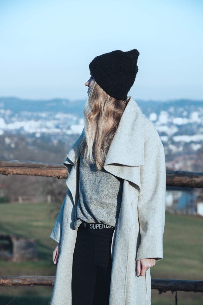 Der Sport Look eignet sich für kühle Wintertage