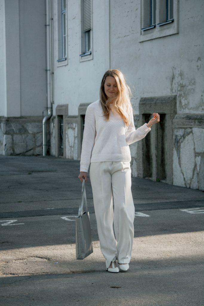 all-white Look für den Sommer